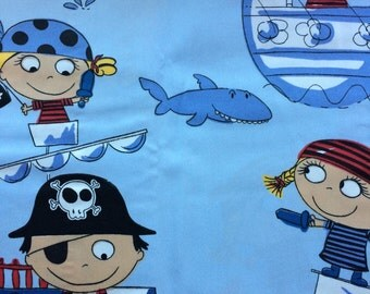 Pirate Ship Fabric