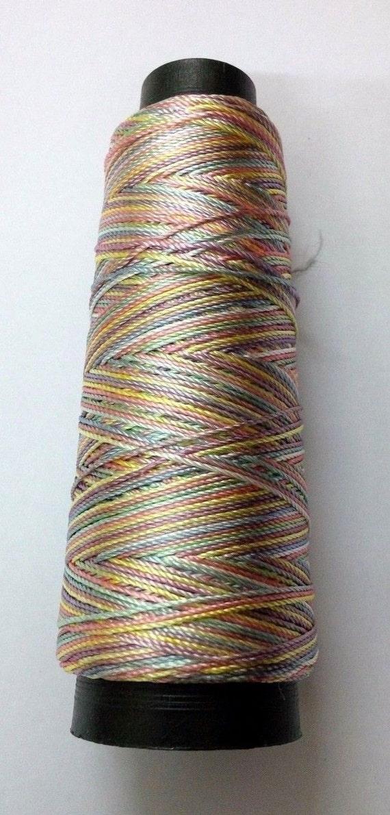 Light Multi Color Viscose Rayon Art Silk Thread Yarn