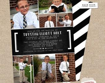 TRYSTAN LDS Baptism Announcement