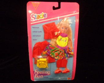 1993 Mattel Barbie Stacie Feeling Fun Fashions MOC  #10747