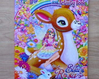 Lisa Frank Giant Coloring And Activity Book Elsu & Rosa