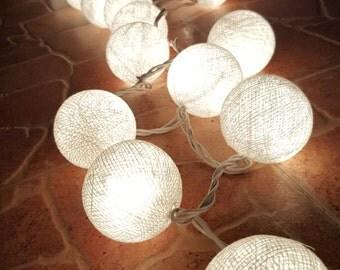 Chirtsmas Ball Lights for home decoration,wedding patio,indoor string lights,bedroom fairy lights,20 Bulbs