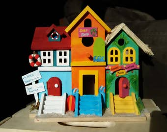 Paradise Village Birdhouse