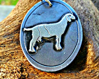 Nubian Goat Jewelry, Goat Pendant, Show Goat Jewelry, FFA Farm Jewelry, Year of the Goat, Dairy Goat,  Boer, Nubian, Pygmy, Goat Necklace