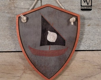 Game of Thrones Shield House Seaworth