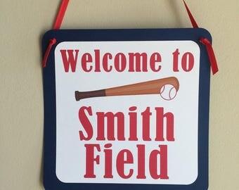 Baseball Door Sign, Baseball Sign, Baseball birthday, Baseball Shower, baseball
