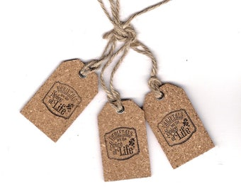 Wine theme cork wine bottle favors tags varietals are the spice of life dinner party guest take home