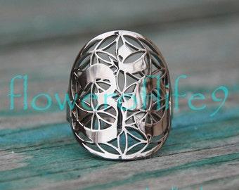 Symbol of OM ring - Stainless Steel