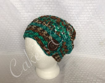 Ladies Slouch Hat (READY TO SHIP)