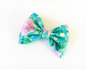 Hawaiian hair bow hawaiian bow tie hawaiian bow