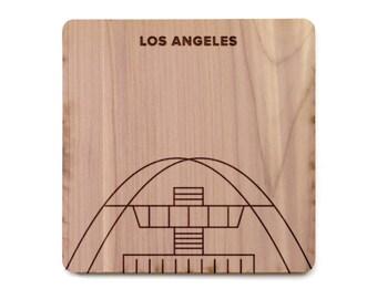 Los Angeles Coaster - LAX International Airport, Theme Building