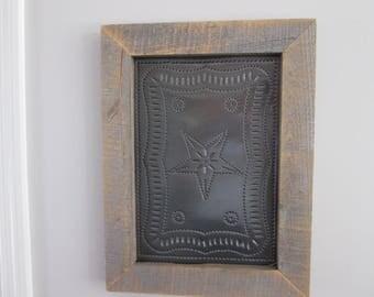 Puched Tin Wall Hanger