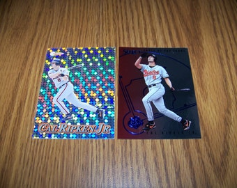 2 Cal Ripken jr. (Baltimore Orioles) Baseball Cards