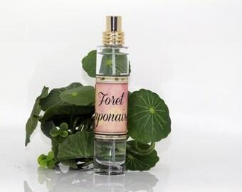 "Perfume  ""Forêt japonaise"", fresh perfume, herbal perfume, floral perfume, woody perfume"