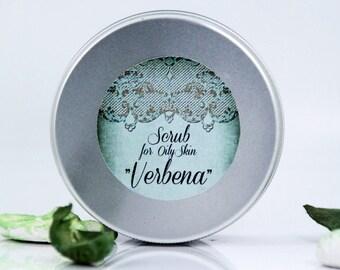 "Scrub for oily skin ""Verbena"""
