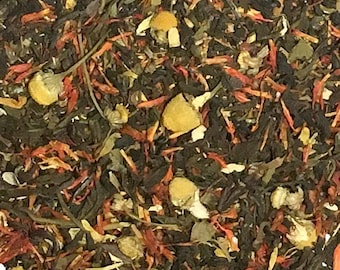Organic Tropical Green Tea  Loose Leaf - 4 oz