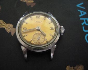 Tissot women's watch/swiss wrst watch 1940s/ladies watch tissot in vintage/waterproof watch/shock absorber watch