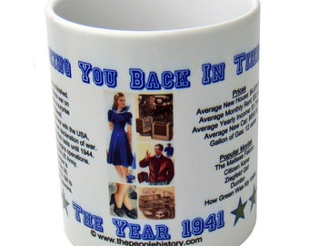 1941 Taking You Back In Time Coffee Mug