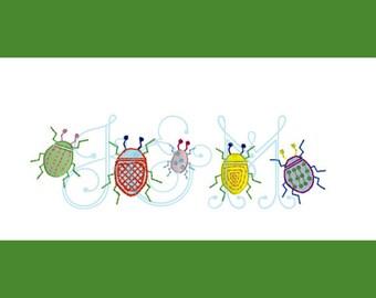Jones' Jitterbugs Embroidery Design