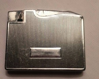 Elgin American lighter. Silvertone made in USA,