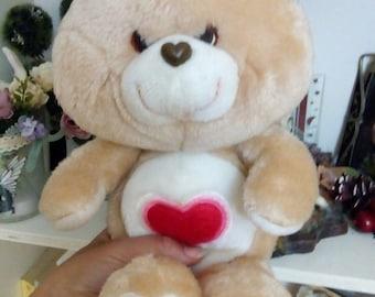 care bears vintage toys plush teddy