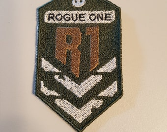 Iron-on embroidery patch - Rogue One shoulder patch