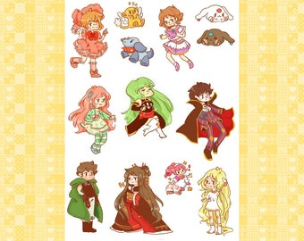 CLAMP Sticker Set