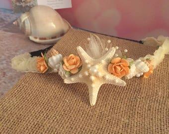 Xo bouquets hair band head piece starfish
