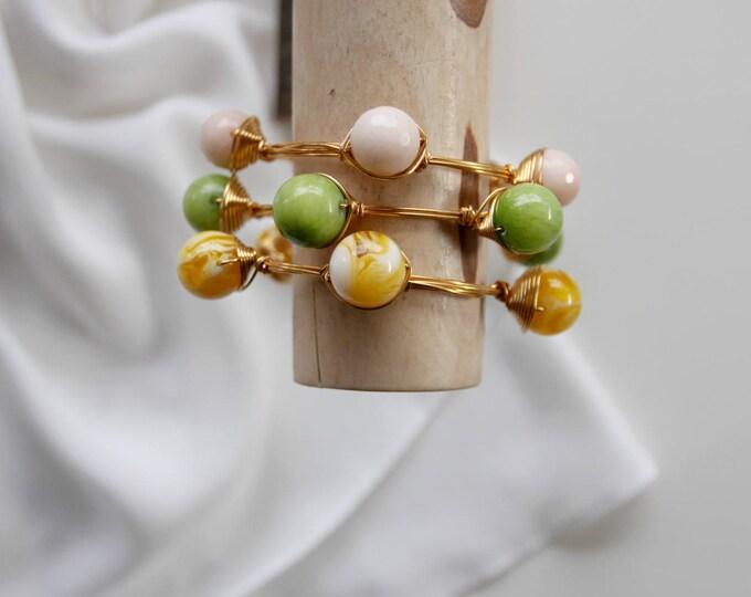 Yellow or green bangle