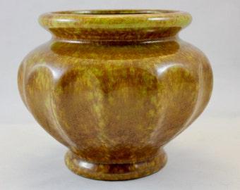 Vintage Haeger Pottery Squash/Gourd Design Footed Planter or Vase