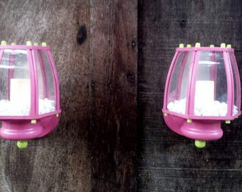 Upcycled Wall sconces