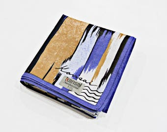 Kansai Abstract Pattern Handkerchief