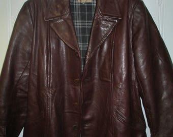 goatskin leather jacket 1960