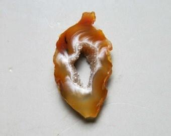 1pcs Natural Druzy Agate Geode Slices C4567