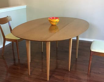 6' Mid-Century Modern Edward Wormley for Dunbar Drop-Leaf Dining Table