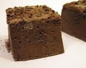 Dark Chocolate Malt Marshmallows - 1 dozen fair trade Gourmet homemade marshmallows