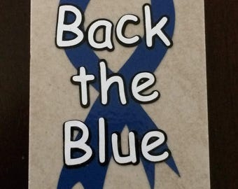 Back the Blue - Police Officers (M1)