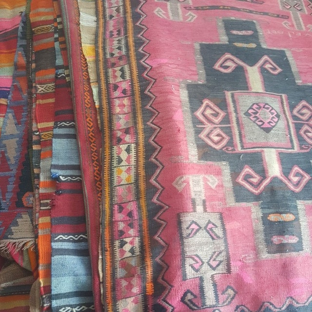 view kilim pillow 24 inch by on etsy