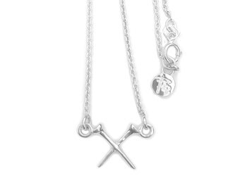 Sterling Silver My Tee Religion 12mm Necklace