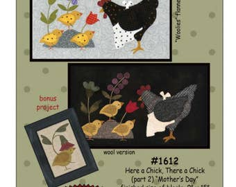 "Bonnie Sullivan's block # 2 ""Here a chick, there a chick""."