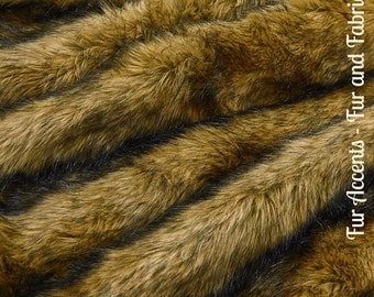 Faux Fur Light Tan Brown Coyote - Fabric - Shag, Crafts, Sewing, Baby & Pet  Photo Props