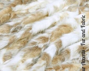 Faux Fur Platinum and Ivory Tone Tibetan Fox - New Desert Fox Fur - Fabric - Shag, Crafts, Sewing, Baby & Pet  Photo Props