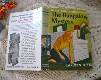 Nancy Drew Mystery Stories The Bungalow Mystery 1960 Carolyn Keene Grosset and Dunlop