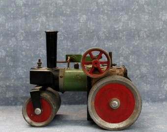 Vintage Mamod England Steam Roller Live Steam