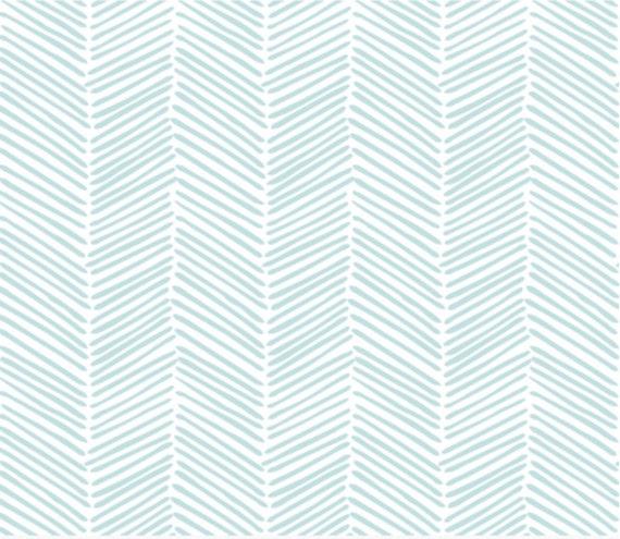 Crib Sheet Aqua Freeform Arrows Fitted Crib Sheet Baby