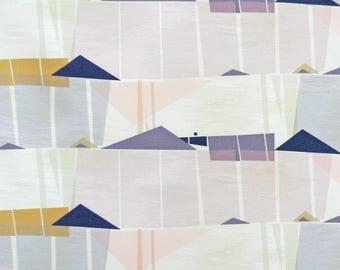 Palmetto Pastel Cotton Fabric