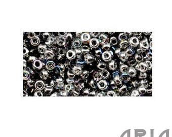 CRYSTAL SILVER RAINBOW (55017): 11/o Miyuki Hybrid Japanese Seed Beads (10 grams)