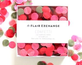 SALE - Tissue Paper Confetti - Poppy