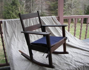 Vintage child's rocker, vintage rocking chair
