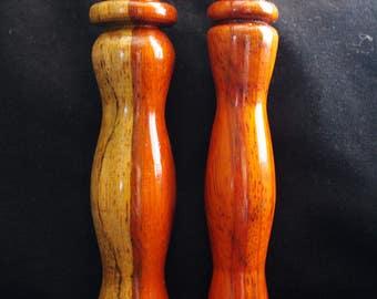 Handcrafted knitting loom tool - Padauk